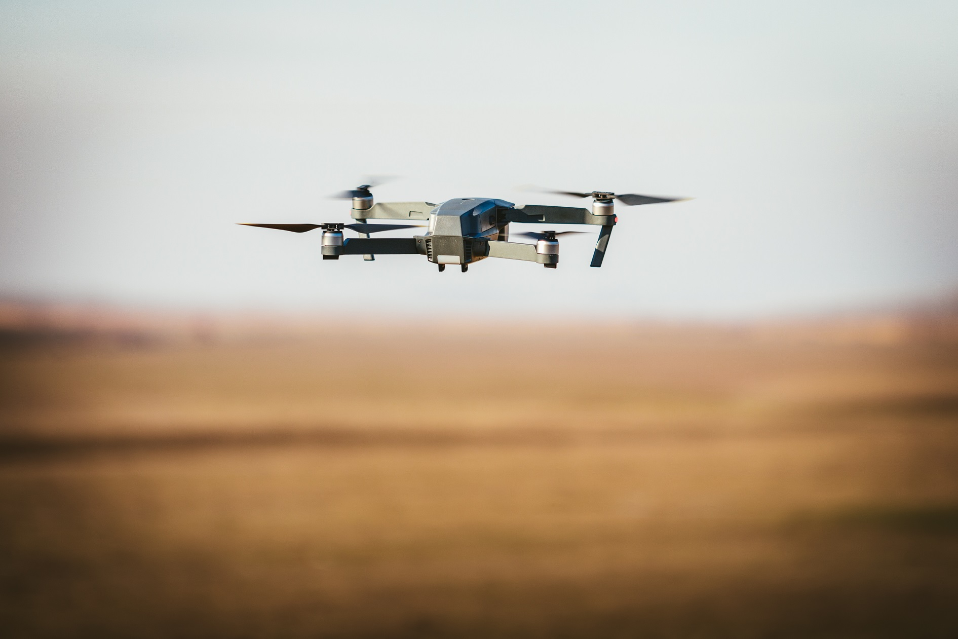 Drone op ooghoogte - werkwijze