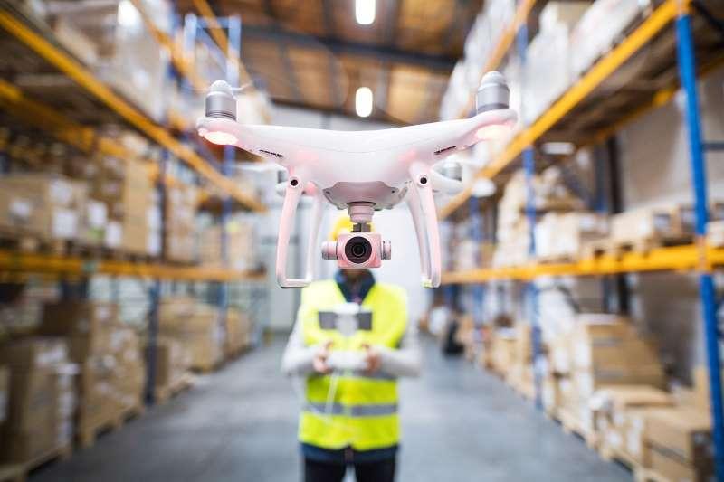 Drone binnen - Werkwijze