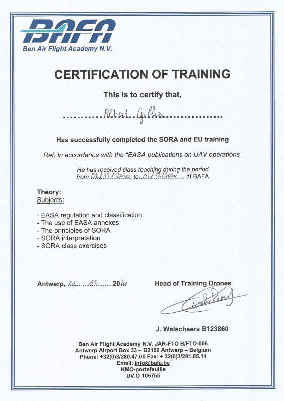 SORA opleiding web